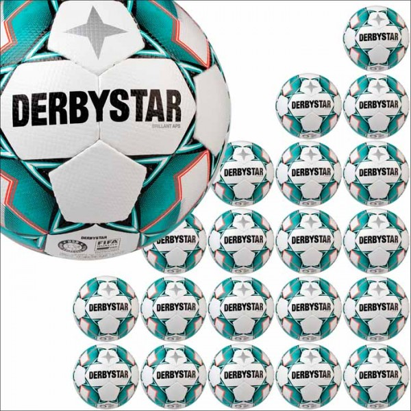 Derbystar Brillant APS Spielball neu 20er Ballpaket