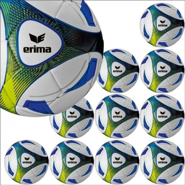 Erima Hybrid Training royal Trainingsball 10er Ballpaket