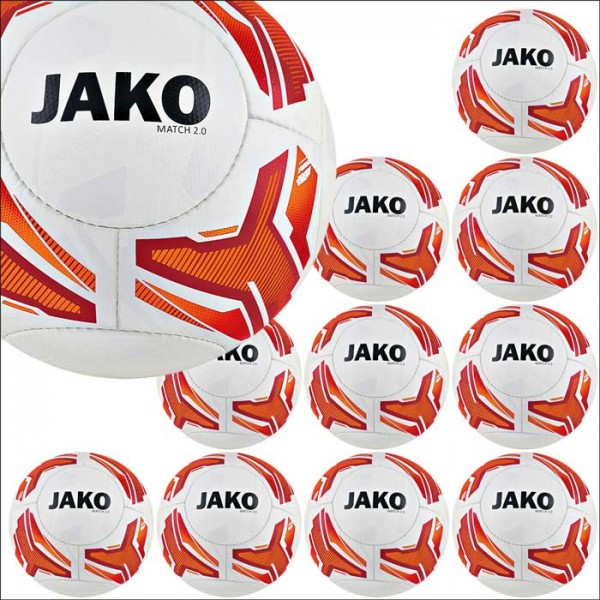 Jako Match 2.0 Lightball 290g Gr.5 10er Ballpaket