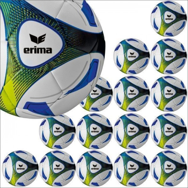 Erima Hybrid Training royal Trainingsball 15er Ballpaket