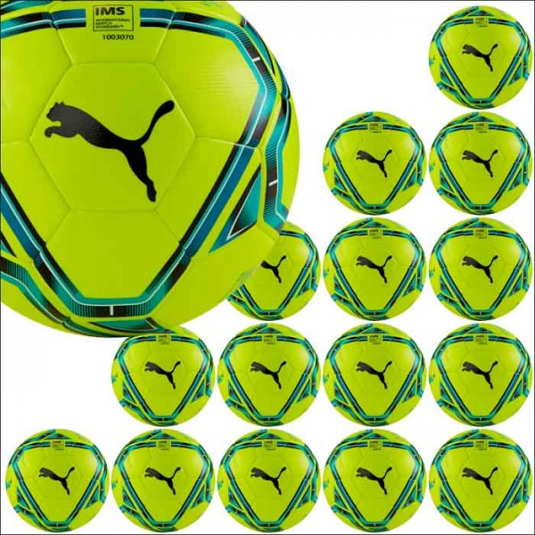 Puma teamFINAL 21.4 IMS Hybrid Trainingsball Winter 15er Ballpaket