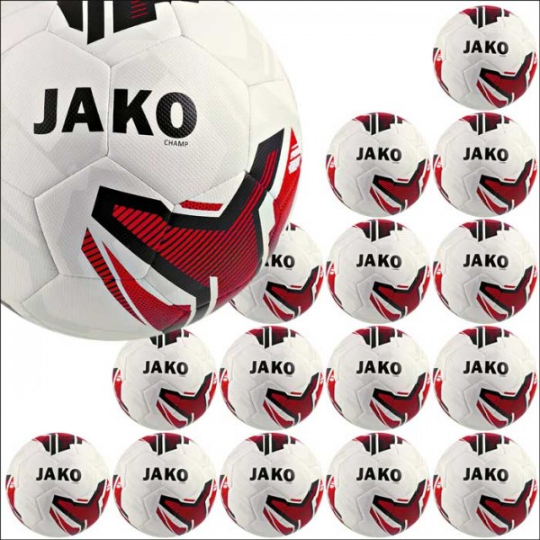 Jako Champ Trainingsball Gr. 4/5 15er Ballpaket