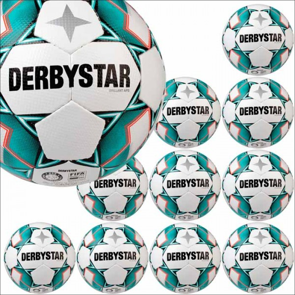Derbystar Brillant APS Spielball neu 10er Ballpaket