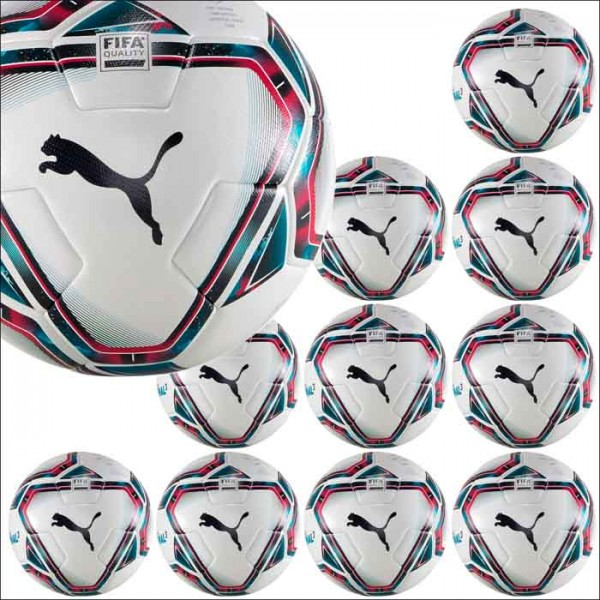 Puma teamFINAL 21.3 FIFA Quality Trainingsball 5 10er Ballpaket